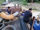 Kerja-kerja Pemasangan 1 Unit Pam Di Taman Perdana Dengkil_1