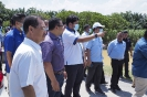 Lawatan Kerja YB Dato Menteri Besar ke Tapak Projek Kolam Takungan Banjir Taman Permata, Daerah Sepang_2
