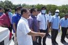 Lawatan Kerja YB Dato Menteri Besar ke Tapak Projek Kolam Takungan Banjir Taman Permata, Daerah Sepang_4