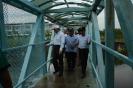 Lawatan YB Exco ke Kolam Takungan Banjir Puchong Putra Perdana