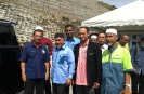 Lawatan YBM Menteri KASA ke Lokasi Banjir Felcra Semungkis, Kg Sg Gahal